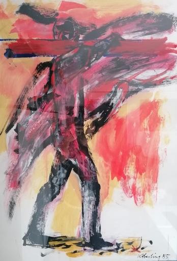 Bernd KOBERLING - Drawing-Watercolor - senza titolo