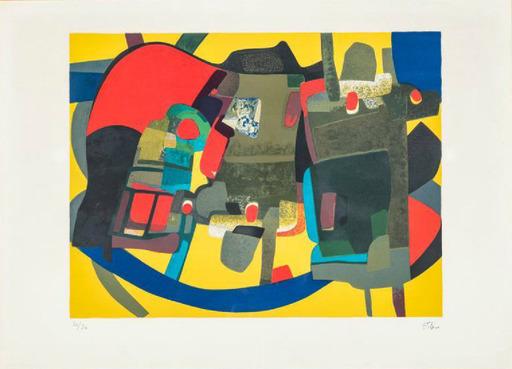 Maurice ESTEVE - Print-Multiple - Loriquet