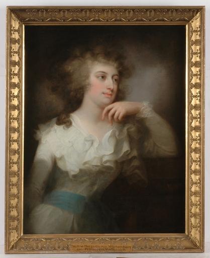 """Josef GRASSI - Peinture - """"Pauline von Metternich"""", 1798, oil painting"""