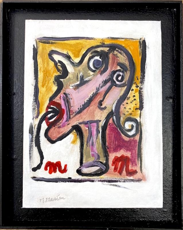 Michel MACRÉAU - Painting - Sans titre