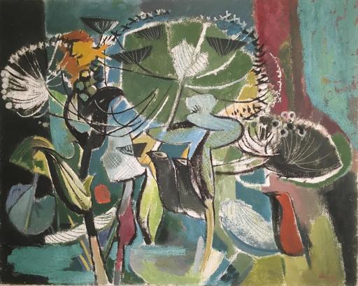 Hans SCHROERS - Pintura - Jardin De Nuit