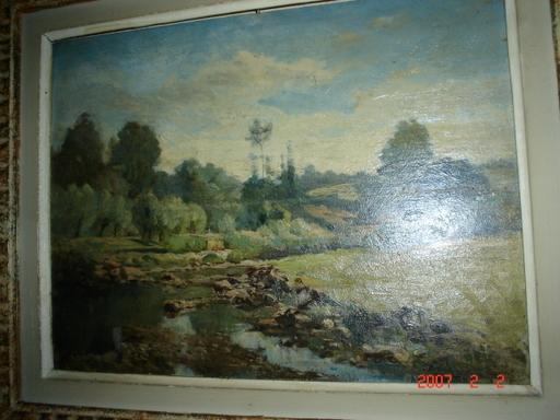 Paul Marcellin BERTHIER (Attrib.) - Pintura - paysage