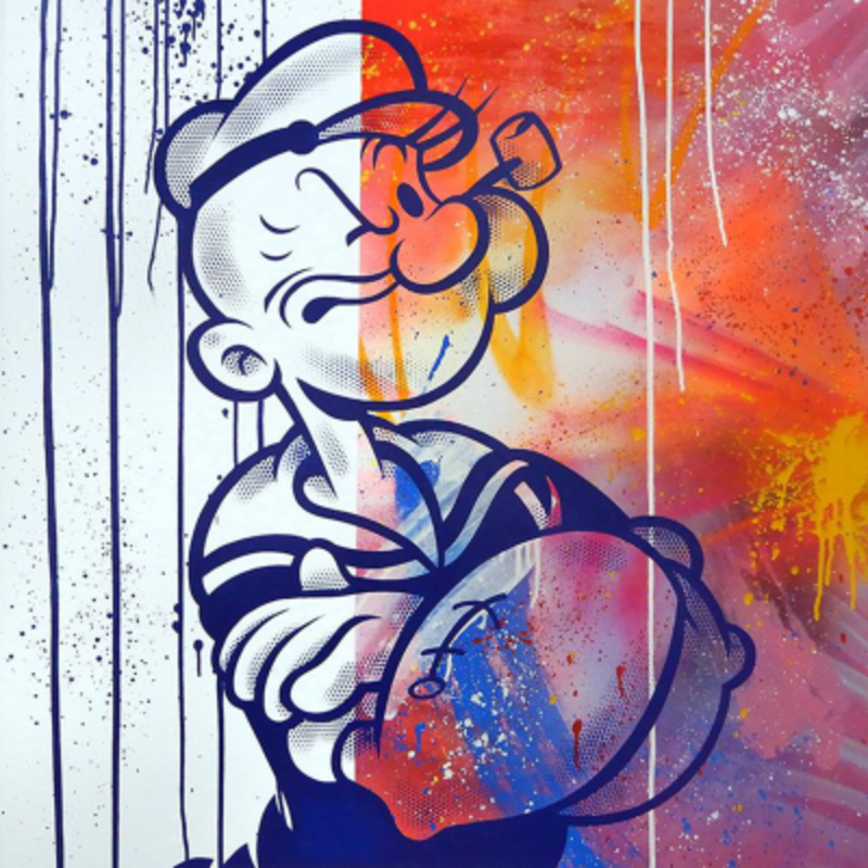 SEEN - Painting - Popeye