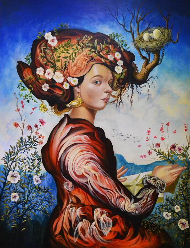 Carlos SABLÓN - Peinture - A Madame de Montespan