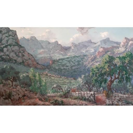Josep CASTELLANAS GARRICH - Painting - BINIARAIX