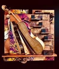 Shijo Alan BURNER - Gemälde - Concerto Pour Violon