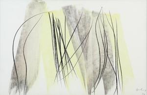 Hans HARTUNG - Painting - P8-1986- E5
