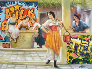 GULLY - Painting - Graffitis