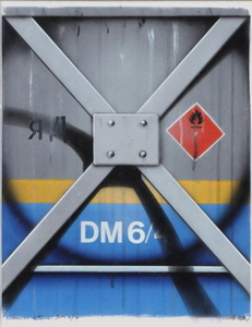 Peter KLASEN - Disegno Acquarello - Camion citerne DM 6/4