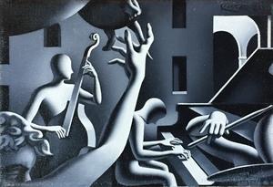 Mark KOSTABI - Pittura - Notturno