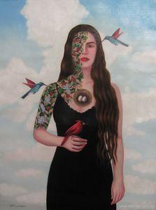 Judith VERGARA GARCÍA - Painting - Blooming