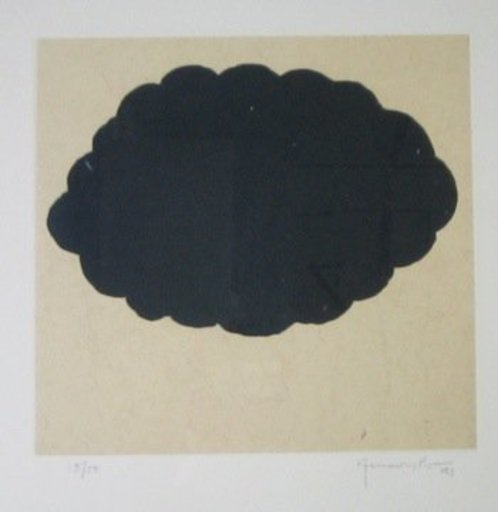 Joan HERNANDEZ PIJUAN - 版画 - Nuvols IV