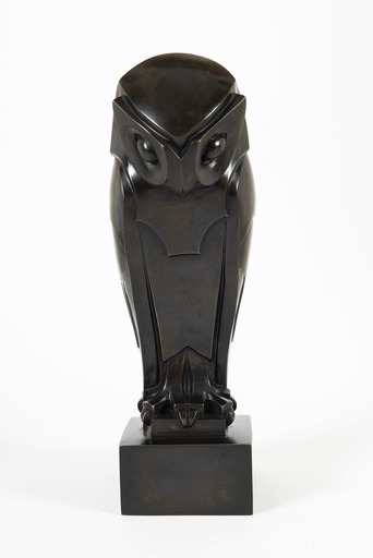 Édouard Marcel SANDOZ - 雕塑 - Hibou