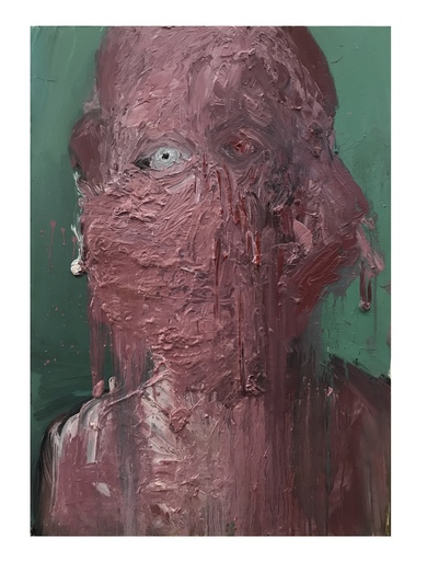 LI Yawei - Pittura - The Poet With Red Cheek