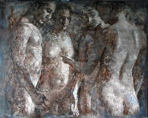 Montse VALDÉS - Peinture - 6-8-10
