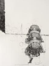 Wainer VACCARI - Drawing-Watercolor - VISITATORI NOTTURNI