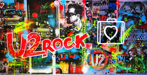 Dominique DOERR - Peinture - Rock for ever