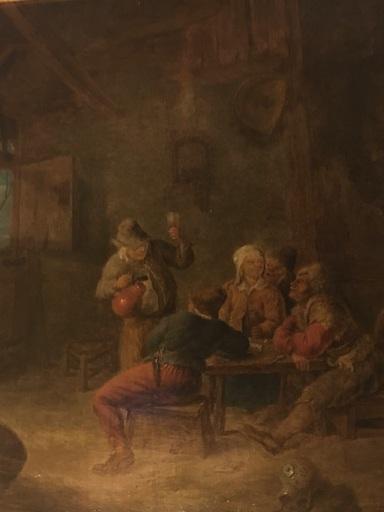 Egbert VAN HEEMSKERCK - Painting - Scene de taverne
