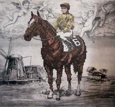 Fernando BELLVER - Grabado - Crónica de una carrera. Murillo, Rembrandt & Chuck Close