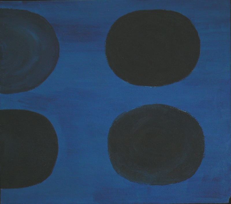 Terry FROST - Painting - Blue Sun