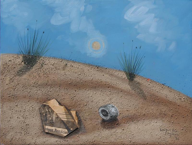 Spyros VASSILIOU - Painting - end of season