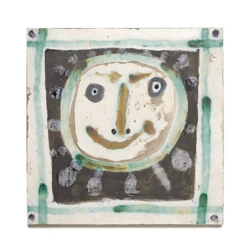 Pablo PICASSO - Keramiken - Tête solaire II