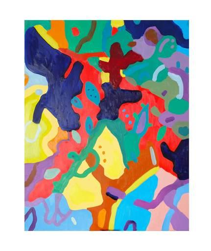 Sébastien COUEFFIC - Peinture - floraison 23
