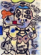 Michel MACRÉAU - Drawing-Watercolor - La petite fumée
