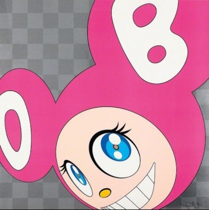 Takashi MURAKAMI - Grabado - And Then... Pink