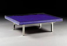 Yves KLEIN - Table Bleu Klein TM