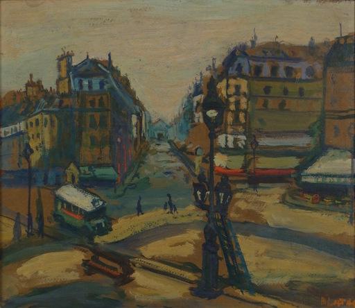 Arbit BLATAS - Pintura - St. Germain Des Pres