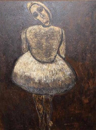 Adriano NICOT - Painting - La Bailarina.