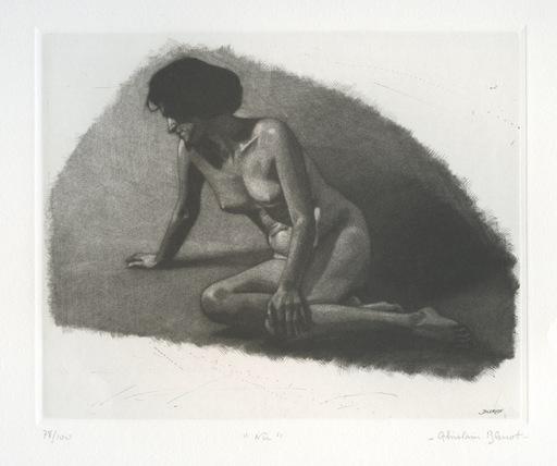 Ghislain BLERIOT - 版画 - GRAVURE SIGNÉE AU CRAYON NUM/100 HANDSIGNED NUMB ETCHING NU