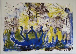 Daniel RICHTER - Print-Multiple - Lass doch die alte Möhre zwiebeln