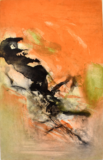 ZAO Wou-Ki - Grabado - Composition II, from: Canto Pisan