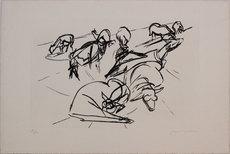 Jacques VILLON - Estampe-Multiple - Untitled