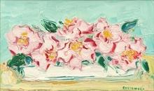 André COTTAVOZ - Painting - Les roses