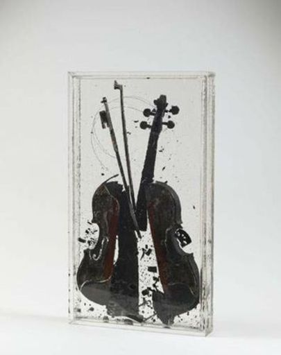 Fernandez ARMAN - Grabado - Colere de Paganini / Paganini's Anger