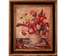 Nicolae DARASCU - Pintura - Vase aux fleurs