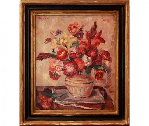 Nicolae DARASCU - Gemälde - Vase aux fleurs