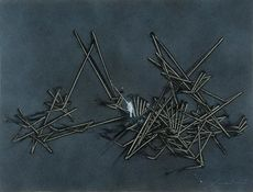 Emilio SCANAVINO - 绘画 - Il gioco del perché