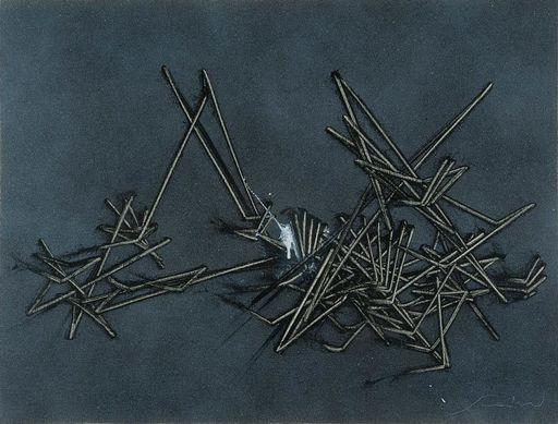 Emilio SCANAVINO - Pittura - Il gioco del perché