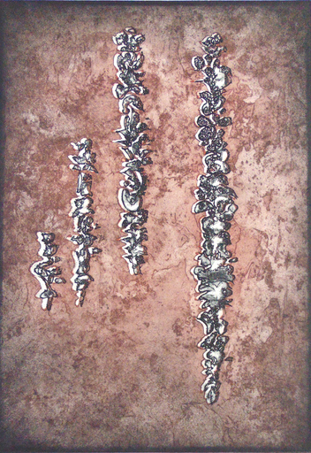 Mark TOBEY - Print-Multiple - They've Come Back II