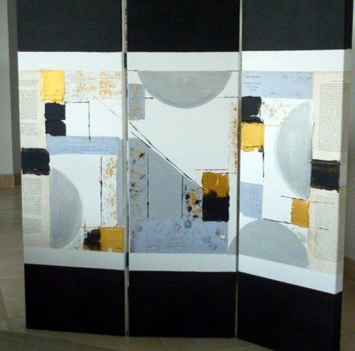 Pascal CUISIN - Peinture - palimpseste 2