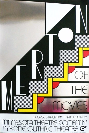 Roy LICHTENSTEIN - Grabado - Merton of the movies