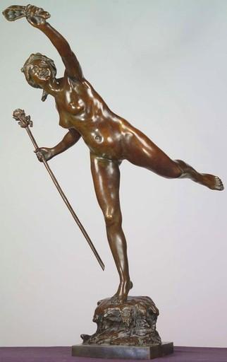 Louis Ernest BARRIAS - Skulptur Volumen - La Dance
