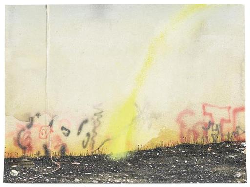 Nigel COOKE - Dibujo Acuarela - Things Fall Apart (3)