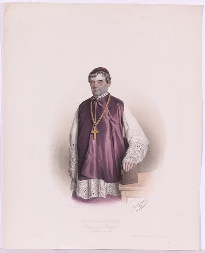 "Henrique ARNOLDI DE - Pittura - ""Archbishop Lucas Baraniecki"""