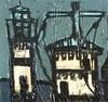 Claude VENARD - Pittura - AUDIERNE - Le Sémaphore