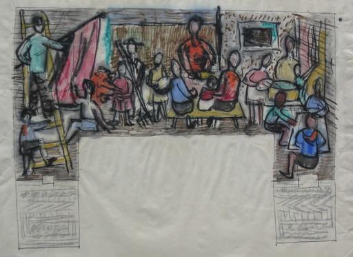 Bernhard HEISIG - Dibujo Acuarela